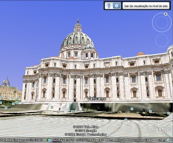 Modelos 3D no Google Earth
