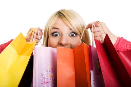 Compras, compras e mais compras!