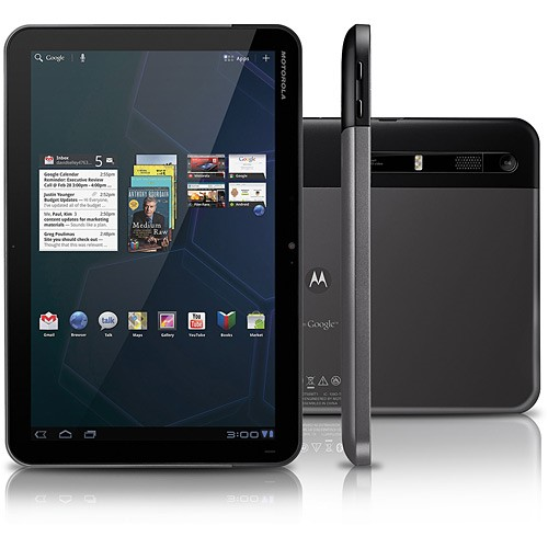 Tablet da Motorola com Android 3.0