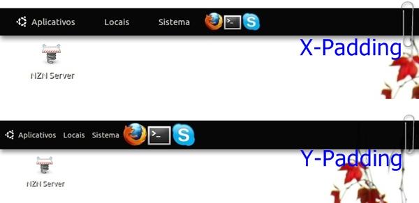X e Y-Padding