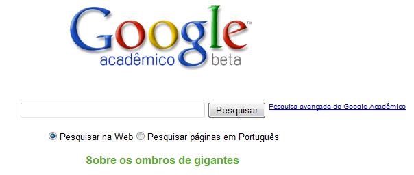 Google Acadêmico