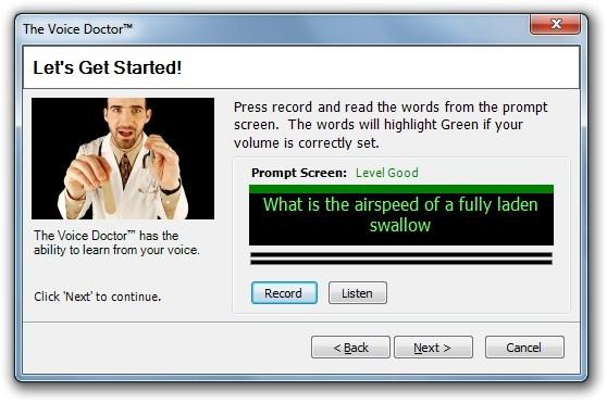 Configure o microfone para usar o MorphVOX.
