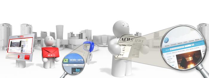 Mundo virtual 3D com acesso a Internet