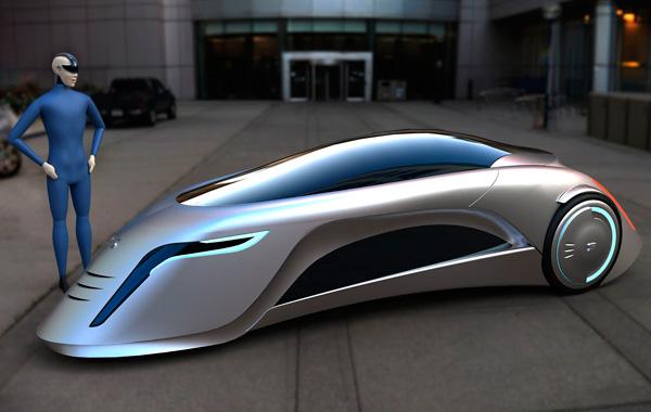 carro do futuro possui tr s rodas e um design totalmente. Black Bedroom Furniture Sets. Home Design Ideas