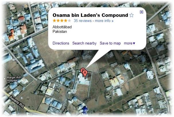 Esconderijo de bin Laden.