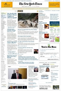 Site do The New York Times