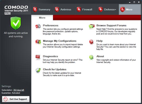 Comodo Security Pro