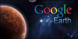 Google Earth, agora com Marte!