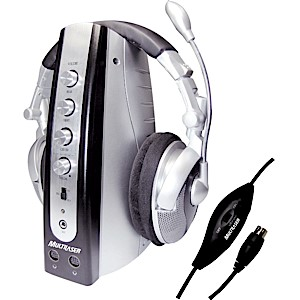 Multilaser Headset Home Theater 5.1 Canais PH54100