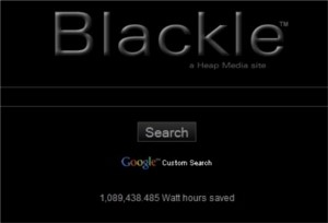 Blackle - o Google preto