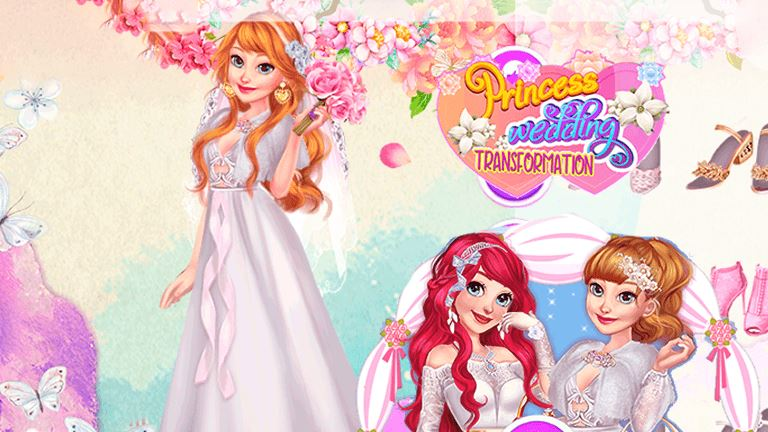 Imagem do jogo Princess Wedding Transformation