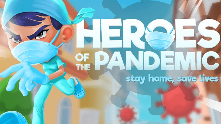 Imagem do jogo Heroes of the Pandemic: Stay Home, Save Lives