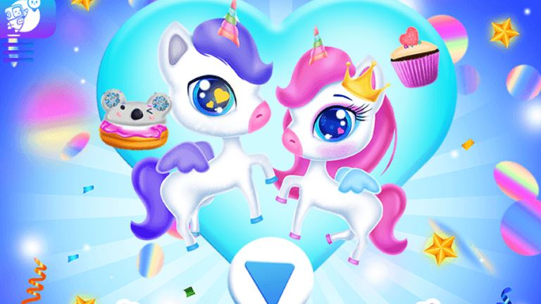 Imagem do jogo Unicorns Birthday Surprise