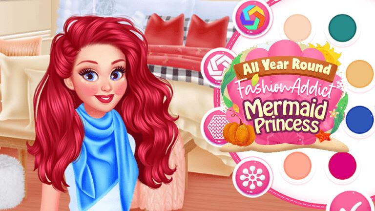 Imagem do jogo All Year Round Fashion Addict Mermaid Princess