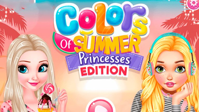Imagem do jogo Colors Of Summer Princesses Edition