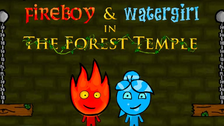 Imagem do jogo Fireboy and Watergirl in Forest Temple