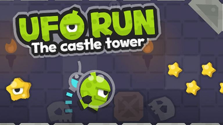 Imagem do jogo UFO Run - The Castle Tower