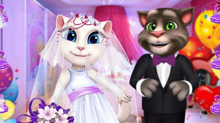 Imagem do jogo Angela and Tom Dream Wedding
