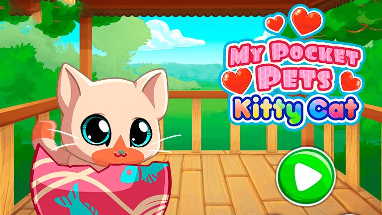 Imagem do jogo My Pocket Pets: Kitty Cat