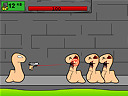 Worms Caught in the Sewers