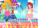 Candy Colors Castle Dress Up