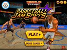 Basketball Jam Shot