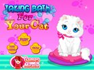 Taking Bath For Your Cat