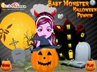 Baby Monster Halloween Pumpkin