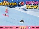 Barbie Skiing Game