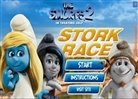 The Smurfs 2 - Stork Race