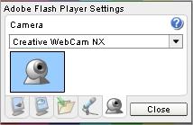 Regule e configure seu microfone e webcam.
