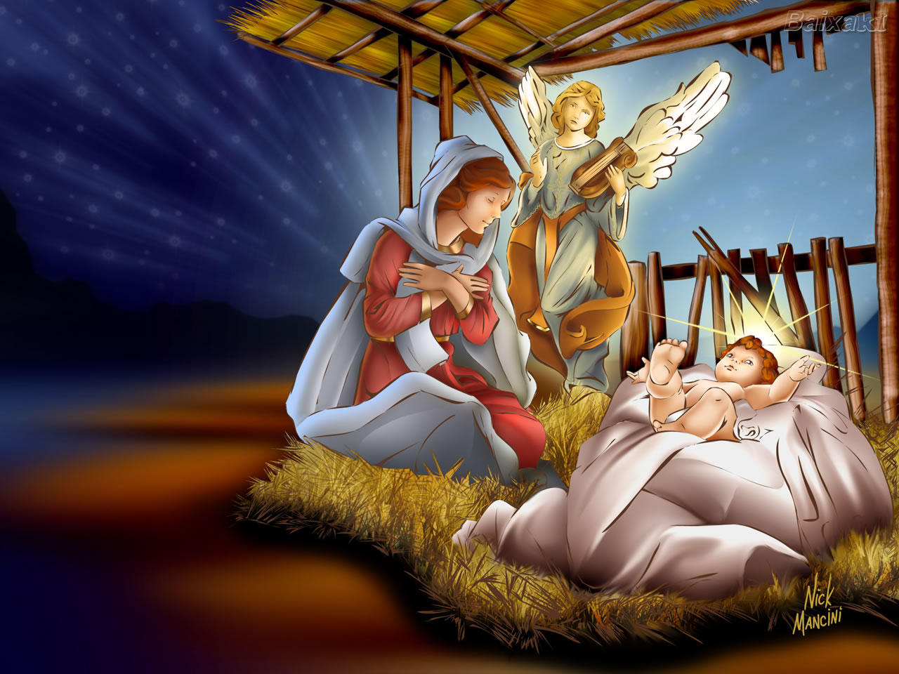 merry christmas jesus birth