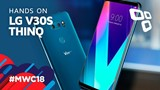LG V30S ThinQ - Hands on - TecMundo [MWC 2018]