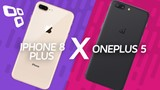 iPhone 8 Plus vs Oneplus 5 - Comparativo - Tecmundo