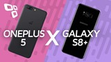 Comparativo: OnePlus 5 vs. Galaxy S8+