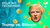 "Trump vs. Bitcoin, ""Chernobyl no mar"" e fim da NET - Hoje no TecMundo"