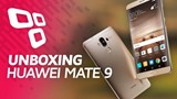 Unboxing do Huawei Mate 9 - TecMundo
