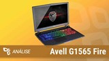 Notebook gamer Avell G1565 Fire [Análise] - TecMundo
