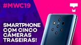 As incríveis 5 câmeras do Nokia 9 PureView - MWC 2019 - TecMundo