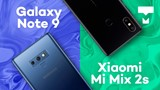 Samsung Galaxy Note 9 vs. Xiaomi Mi Mix 2s - Comparativo - TecMundo