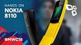 Banana Phone: Nokia 8110 - Hands On - TecMundo [MWC 2018]
