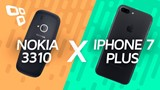Nokia 3310 Vs  iPhone 7 Plus: o super comparativo #realoficial - TecMundo