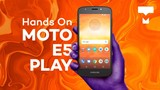Moto E5 Play - Hands On - TecMundo