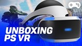 Unboxing do Playstation VR Launch Bundle - TecMundo Games